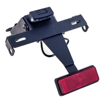 PUIG Support de plaque d'immatriculation avec réflecteur et éclairage