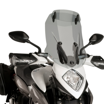 Front PUIG Touring Windshield with deflector