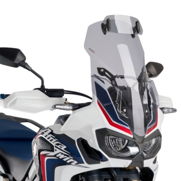 Front - Fixed PUIG Touring Windshield with deflector