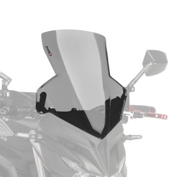 PUIG Naked New Generation Windshield Front - Honda - High Impact Acrylic