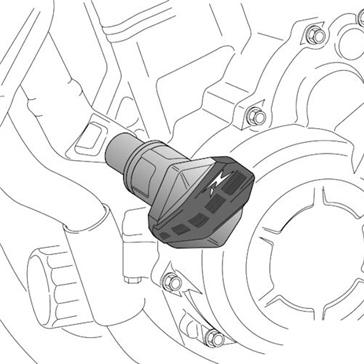 PUIG Protecteur de châssis R12