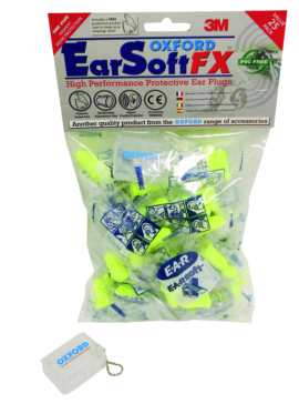 """Bouche-oreille """"Earsoft FX"""" OXFORD PRODUCTS Jaune"""