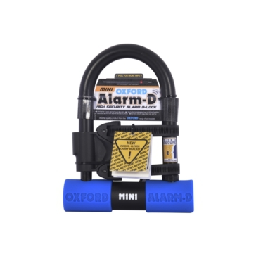 Oxford Products Alarm-D High Security D-Lock with Integral Alarm