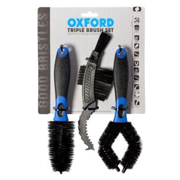 Ensemble triple de brosses de nettoyage OXFORD PRODUCTS