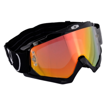 Shiny black OXFORD PRODUCTS Assault Pro Goggles