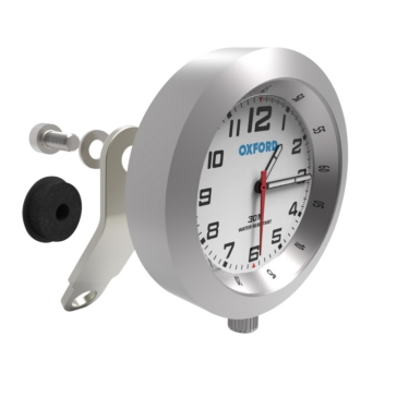 Oxford Products Anaclock Weather Resistant Clock Motorcycle - 371250