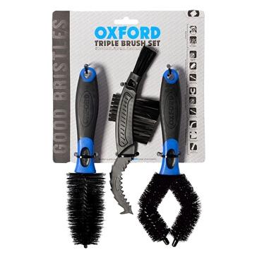 Oxford Products Ensemble triple de brosses de nettoyage