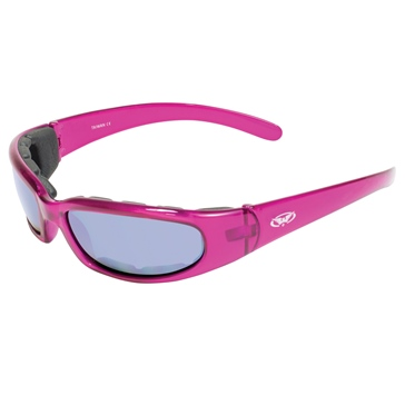 GLOBAL VISION Chicago FM Sunglasses Pink