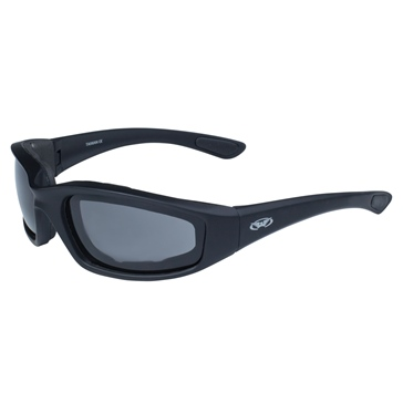 GLOBAL VISION Kickback Sunglasses Matte Black