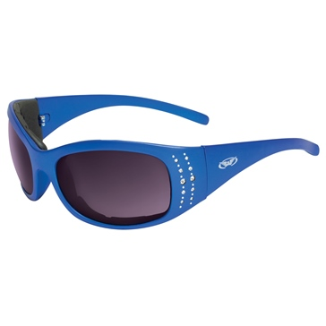 GLOBAL VISION Marilyn 2 Sunglasses Blue