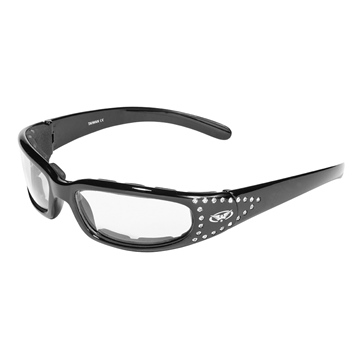 GLOBAL VISION Marilyn 3 Photochromatic Sunglasses Matte Black