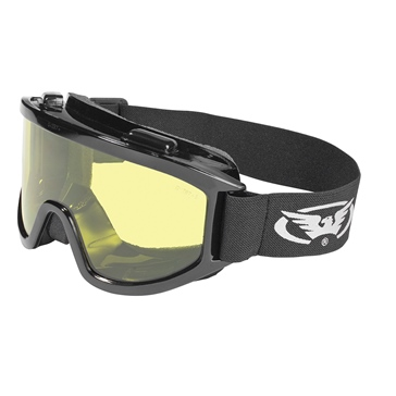 GLOBAL VISION Wind-Shield Goggle Black