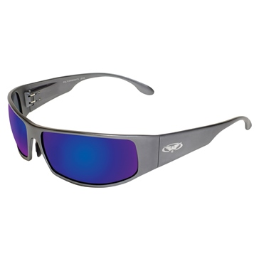 Global Vision Bad-Ass 1 Sunglasses Gun Metal