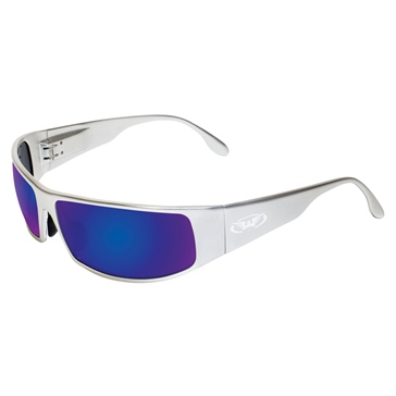 Global Vision Lunette soleil Bad-Ass 1 Argent