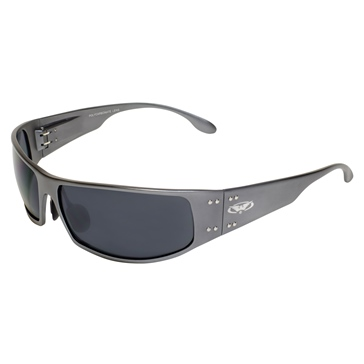 Global Vision Bad-Ass 2 Sunglasses Gun Metal