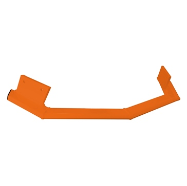 Straightline Rugged Series Lower Wing Front - Aluminum - Fits Ski-doo