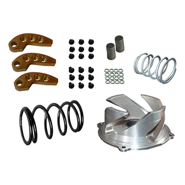 Straightline Clutch kit with adjustable weight Polaris - Steel