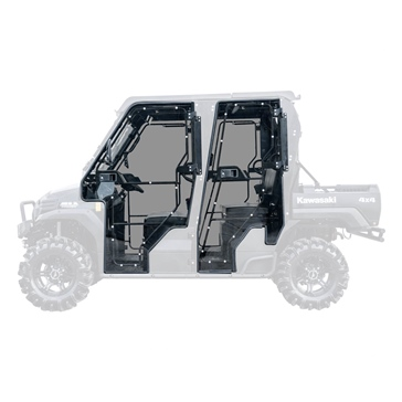 Super ATV Porte vitrée Kawasaki - UTV - Porte complète