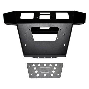 Warn Bumper 90794 Front - Steel - Fits Polaris