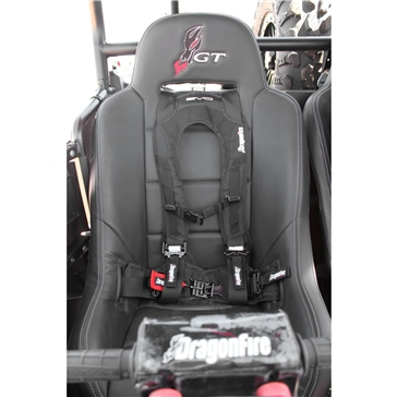 Dragon Fire Racing H-Style 4-Point Harness Quick Release