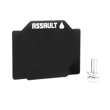Assault Industries Plaque d'immatriculation