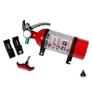 Assault Industries Extinguisher Clamp Kit Aluminium