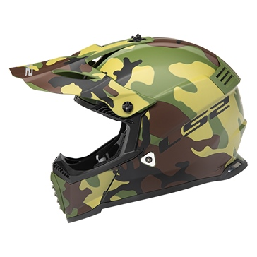 LS2 Gate Mini Off-Road Helmet Jarhead