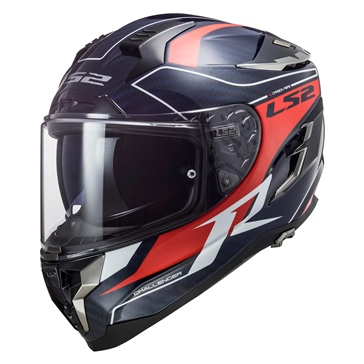 LS2 Challenger Carbon Full-Face Helmet GT Blue - Summer