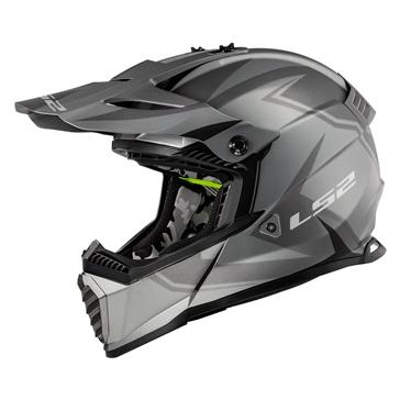 LS2 Gate Mini Off-Road Helmet TwoFace