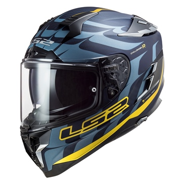 LS2 Challenger Full-Face Helmet C Flames - Summer