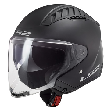 LS2 Casque Ouvert Copter Solid