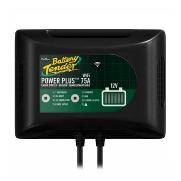 Battery Tender Chargeur de batterie Power Plus 10A Très haute efficacité - 400707