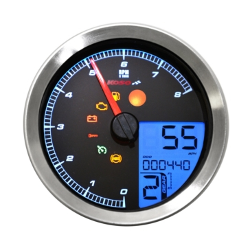 Koso HD-04 Speedometer Multi-functions Universal - 405001