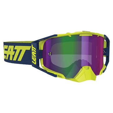 LEATT Velocity 6.5 Iriz Goggle Ink, Lime