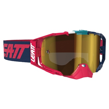 LEATT Velocity 6.5 Iriz Goggle Ink, Red