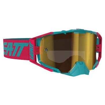 LEATT Velocity 6.5 Iriz Goggle Red, Teal