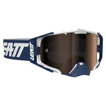 LEATT Velocity 6.5 Iriz Goggle Ink, White