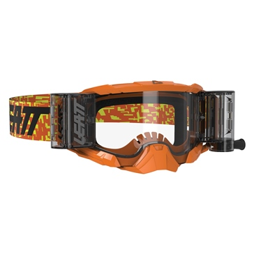 LEATT Lunette Velocity Roll-Off Orange Neon