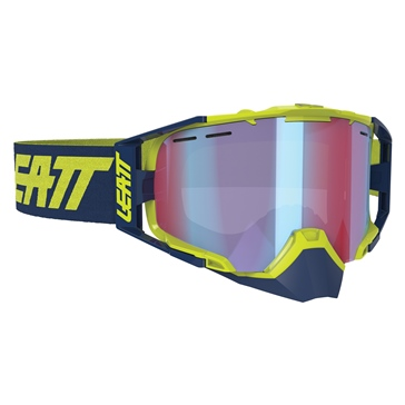 LEATT Goggle Velocity 6.5 SNX Lime, Blue