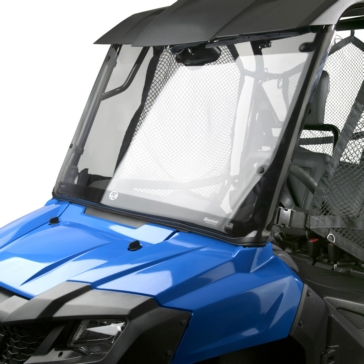 NATIONAL CYCLE Wash'n'Wipe™ 3D Full UTV Windshield Front - Honda - Polycarbonate