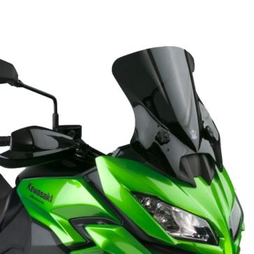 NATIONAL CYCLE VStream Aeroacoustic Windshield Front - Kawasaki - Polycarbonate