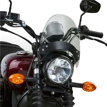 National Cycle Pare-brise Flyscreen BMW, Harley-Davidson, Honda, Indian, Johnny Pag, Kawasaki, Suzuki, Triumph, Victory, Yamaha