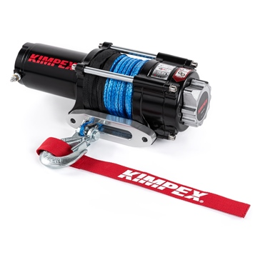 Kimpex 2500 lbs Winch Kit with Synthetic Rope