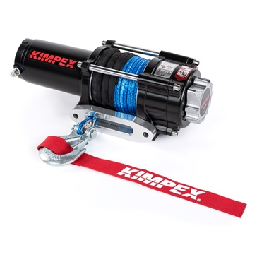 KIMPEX 3500 lbs Winch Kit, Distance Remote