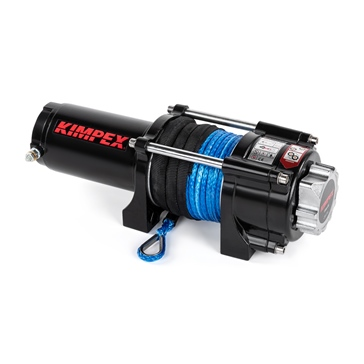 Kimpex 3500 lbs Winch IP 67 with Synthetic Rope
