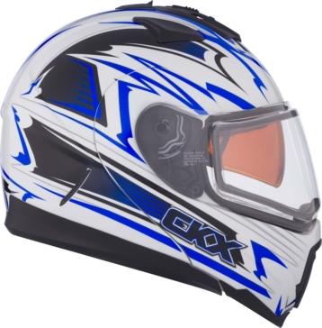CKX Tranz 1.5 RSV Modular Helmet, Winter Edgy