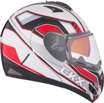Hurricane CKX Tranz RSV - Modular Helmet, Winter