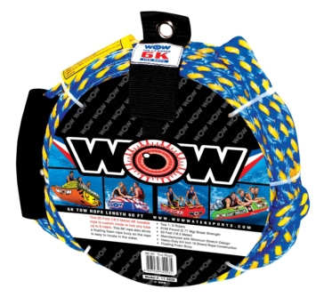 Tow rope WOW 6K, 60', Watersport Tow Rope