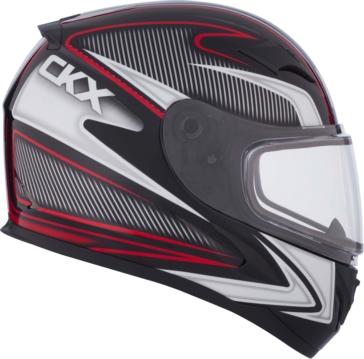 Sparkle CKX RR610 Full-Face Helmet, Winter