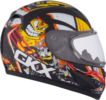 Crazy CKX RR601Y Full-Face Helmet, Winter - Youth